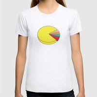 Epic Pie Chart Womens Fitted Tee Ash Grey SMALL