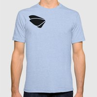 Black - tryout Mens Fitted Tee Tri-Blue SMALL
