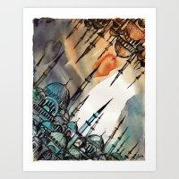 Cross Continents Art Print