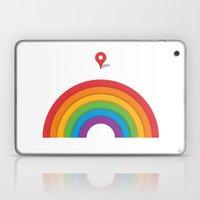 Somewhere Over The Rainb… Laptop & iPad Skin