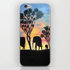 Sunset Travelers  iPhone & iPod Skin