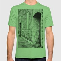 Oxford Abandoned Mens Fitted Tee Grass SMALL