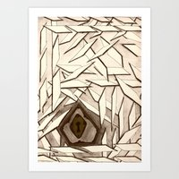 Where There's A Will... Art Print