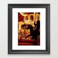 The Rides, The Rider Framed Art Print