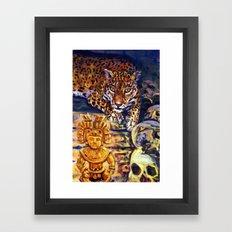 The Old Jaguar Gazed Greedily Framed Art Print