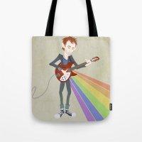 Radiohead Thom In Rainbo… Tote Bag