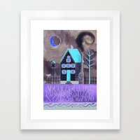 Moonlight Sampler Framed Art Print