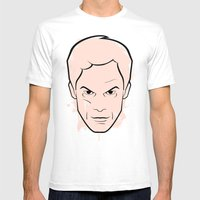 Dexter Morgan - Dexter Mens Fitted Tee White SMALL