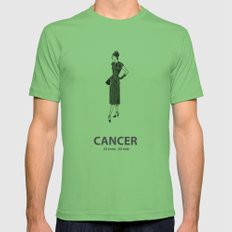 Cancer Mens Fitted Tee Grass SMALL