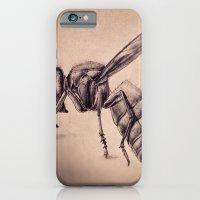 bee iPhone & iPod Cases featuring Bee by Werk of Art