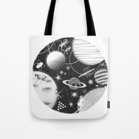 SPACE & SPORT Tote Bag