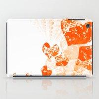 Heart - Orange iPad Case