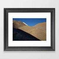 Morning Light Path To Th… Framed Art Print
