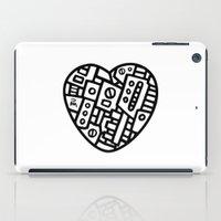 Iron Heart (B&W Edition)… iPad Case