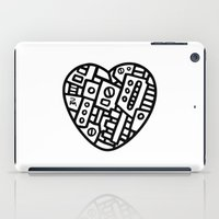 Iron heart (B&W Edition) - PM iPad Case