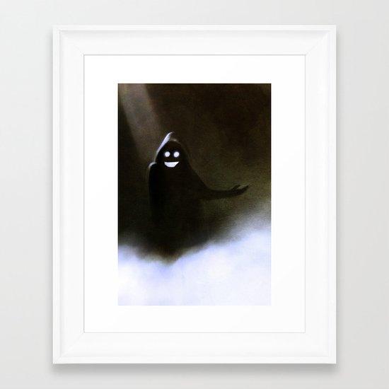 Greeter Framed Art Print
