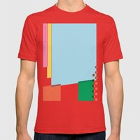 SECRET CYCLING FLAG - PA… Mens Fitted Tee Red SMALL