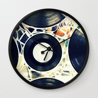 Missing Pieces Wall Clock