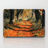 Autumn rust iPad Case