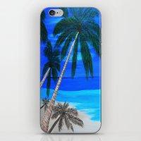 White Sand Beach  iPhone & iPod Skin