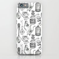 iPhone & iPod Case featuring Alice Encounters by Saga-Mariah