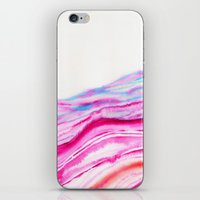 AGATE Inspired Watercolor Abstract 08 iPhone & iPod Skin
