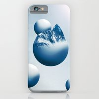 iPhone & iPod Case featuring Ice Mountain Planet by Anthony Bellus
