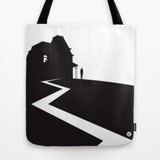 The Black Collection' Hitchcock Movie Tote Bag