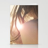 Summer Girl Stationery Cards