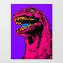 Godzilla 1985 II Canvas Print