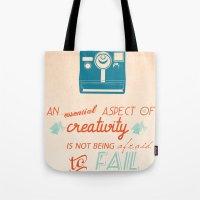 Creativity Inspirational… Tote Bag