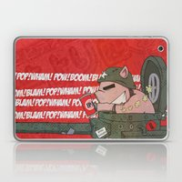 I brought a Pop Gun to a Cock Fight Laptop & iPad Skin