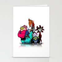 Bad Guys Stationery Cards