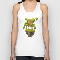 New City in the Sky Unisex Tank Top