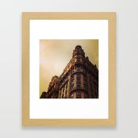 Ansonia, NYC - Dusk Framed Art Print