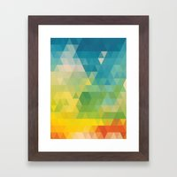 Colorful Days Framed Art Print