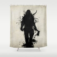 Apocalypse Hunter Shower Curtain