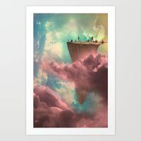The Fiscal Cliff Art Print