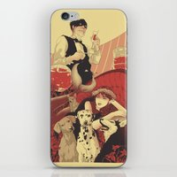 Who do you think? iPhone & iPod Skin