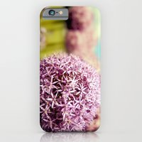iPhone & iPod Case featuring Alliumns by Wood-n-Images