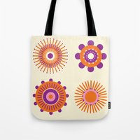 Sunburst: Orange Tote Bag
