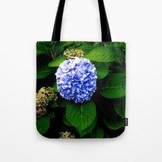 Blue Flower (Edited) Tote Bag