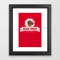 Alex Kidd Framed Art Print