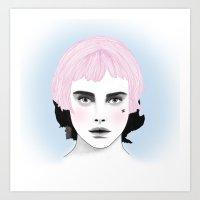 Fashion Illustration - Chanel Pink Art Print