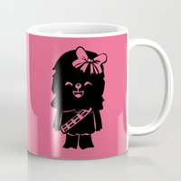 Baby Girl Wookie in Pink Graphic Mug