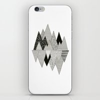Lost In Mountains iPhone & iPod Skin