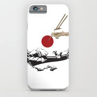 iPhone & iPod Case featuring A delicious harvest moon by matthew nash