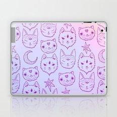 Kitty Mystics in Pink Laptop & iPad Skin