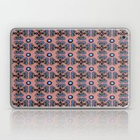 Butterflies and Dots Laptop & iPad Skin