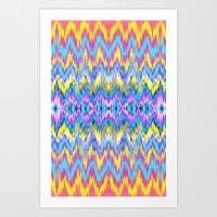 Ethnic Patterned Phone C… Art Print